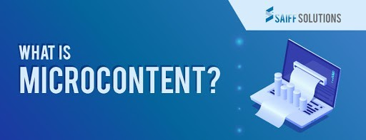 What is Microcontent?